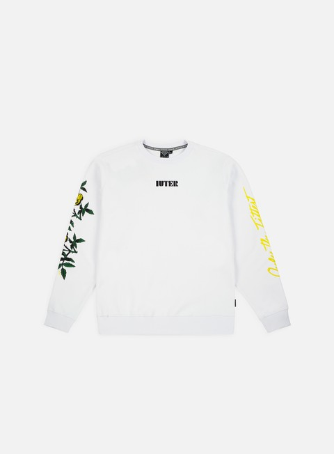 Iuter El Iuter Crewneck,White/Yellow