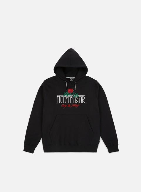 felpe iuter el iuter hoodie black red