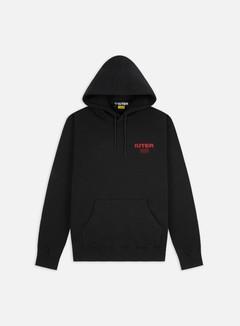 Iuter - Fast Logo Hoodie, Black/Red