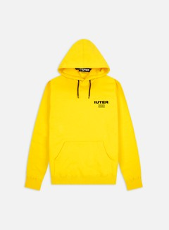 Iuter - Fast Logo Hoodie, Yellow/Black