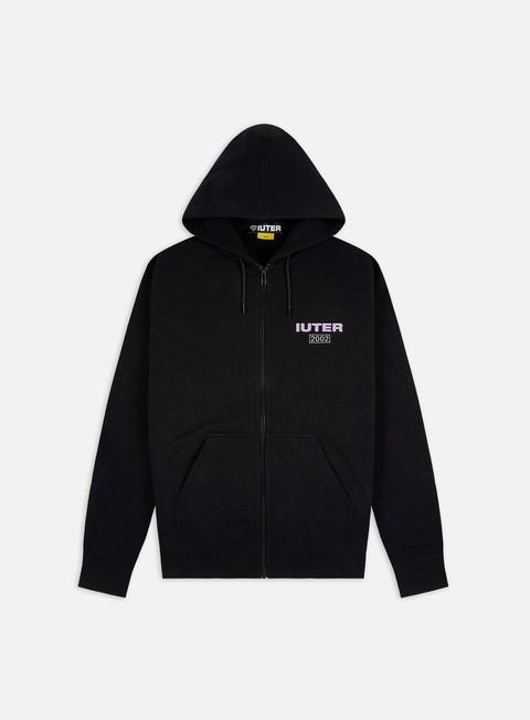 Hooded Sweatshirts Iuter Fast Logo Zip Hoodie