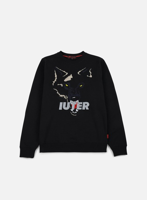 felpe iuter growl crewneck black