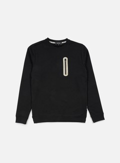 Iuter - Hidden Zip Pocket Crewneck, Black 1
