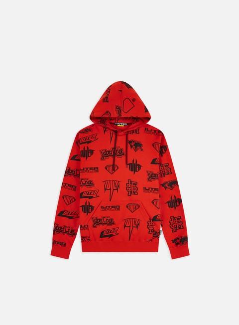 Hooded Sweatshirts Iuter Horns Allover Hoodie