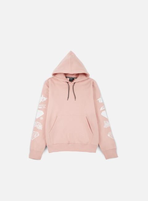 felpe iuter horns hoodie pink