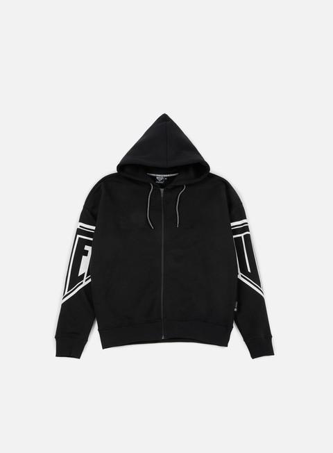 felpe iuter iuter arms drop hoodie black