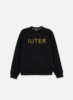 Iuter - Iuter Helvetica Crewneck, Black 1