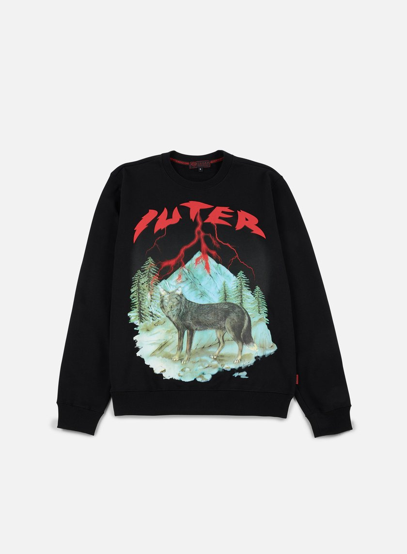 Iuter - Lisa Crewneck, Black