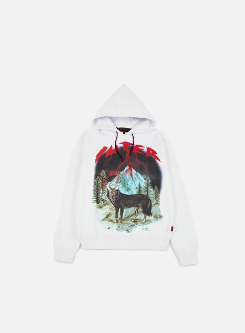 felpe iuter lisa hoodie white
