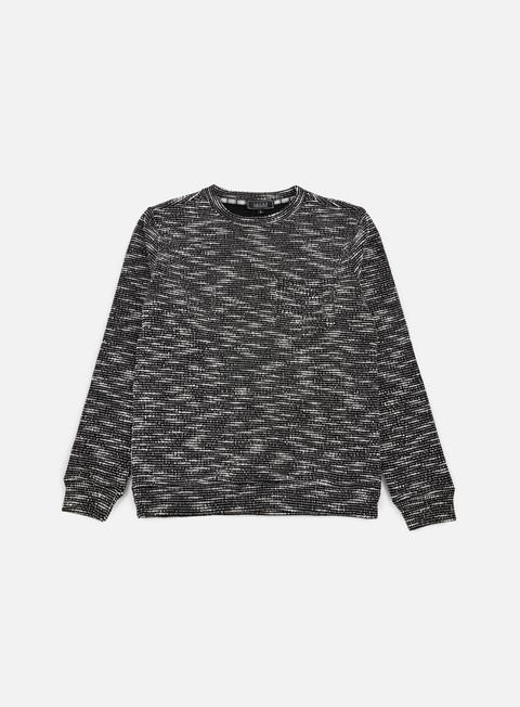 felpe iuter llama knitted sweater black