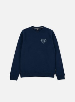 Iuter - Logo Crewneck, Deep Blue/Grey 1