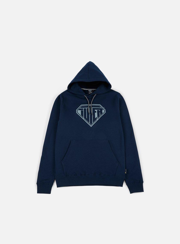Iuter - Logo Hoodie, Deep Blue