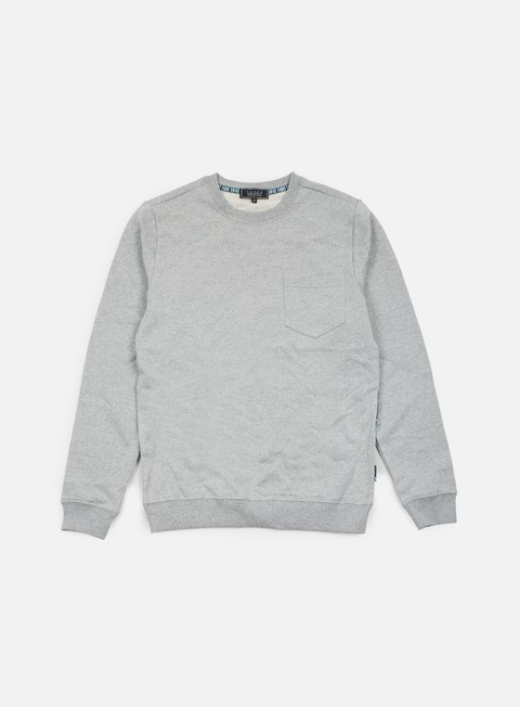 felpe iuter lower pocket crewneck wave