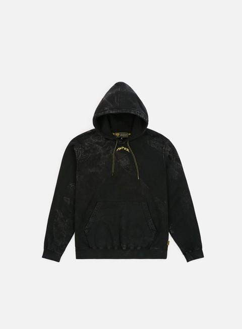 felpe iuter marble hoodie black