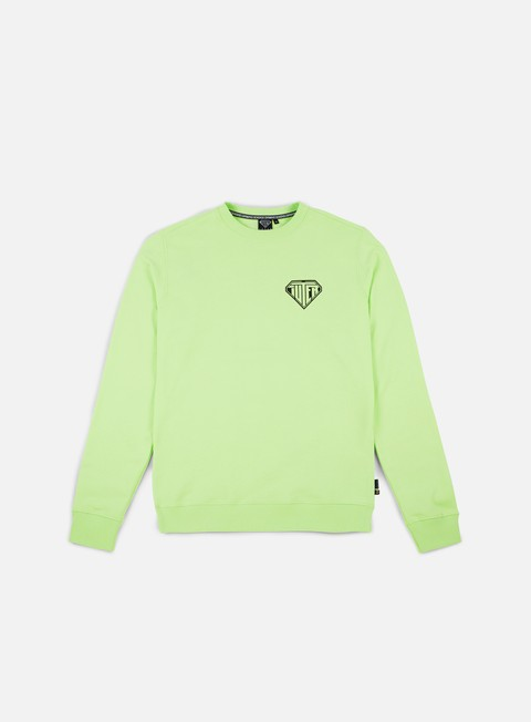 felpe iuter megaiuter crewneck light green