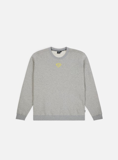 felpe iuter megaiuter dpm crewneck light grey