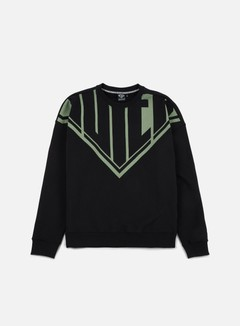 Iuter - Megalogo Drop Crewneck, Black 1