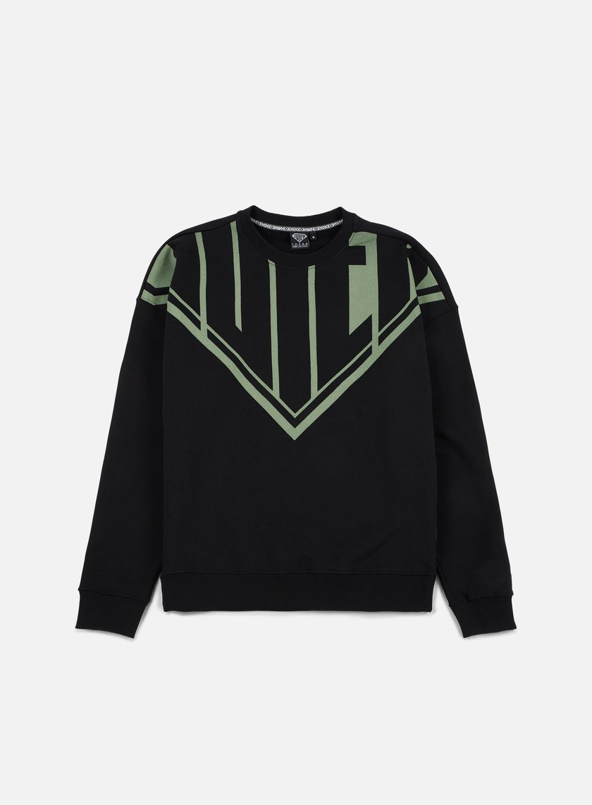 Iuter - Megalogo Drop Crewneck, Black