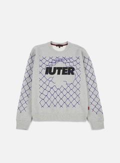 Iuter - Net Crewneck, Light Grey 1