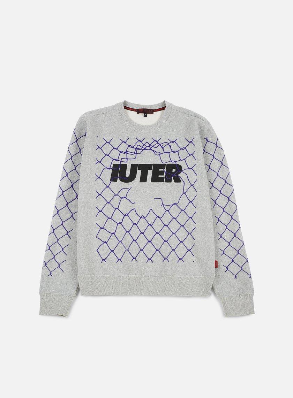 Iuter - Net Crewneck, Light Grey