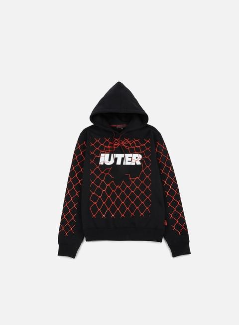 felpe iuter net hoodie black