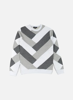 Iuter - Parquet Multi Crewneck, Light Grey