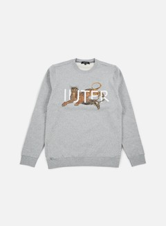 Iuter - Prey Crewneck, Light Grey 1