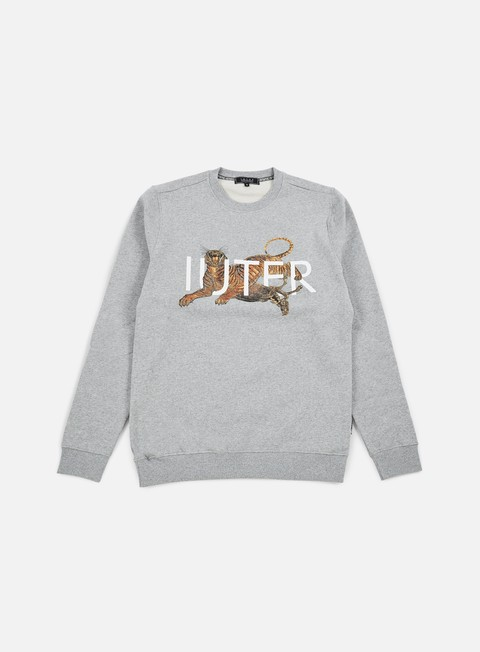 felpe iuter prey crewneck light grey