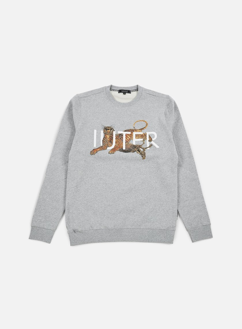 Iuter - Prey Crewneck, Light Grey