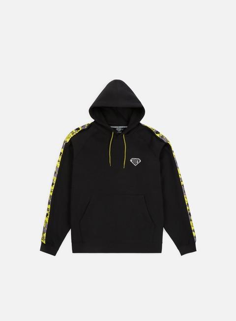 felpe iuter ribbon hoodie black