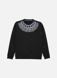 Iuter - Rosone Embroidered Crewneck, Black 1