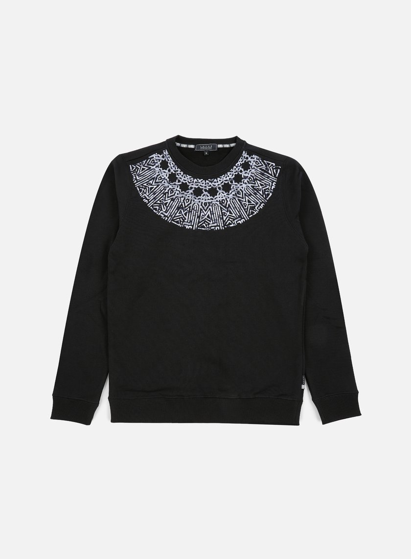 Iuter - Rosone Embroidered Crewneck, Black
