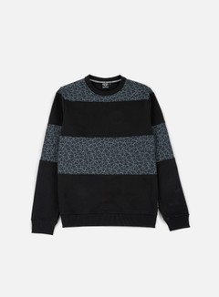Iuter - Rule Multilogo Crewneck, Black 1