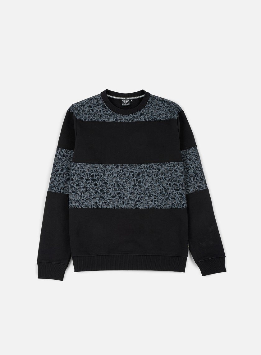Iuter - Rule Multilogo Crewneck, Black