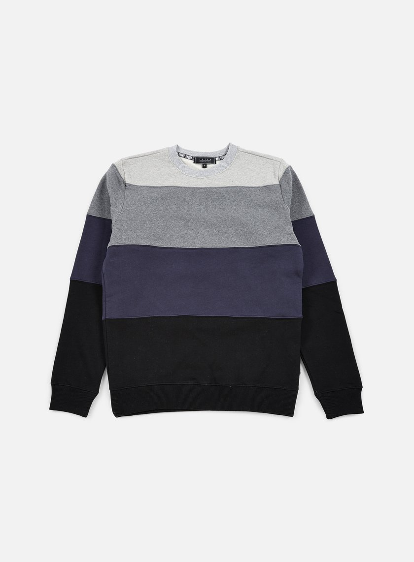 Iuter Rule Stripes Insert Crewneck