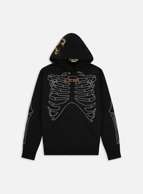 Hooded Sweatshirts Iuter Skeleton Embro Hoodie