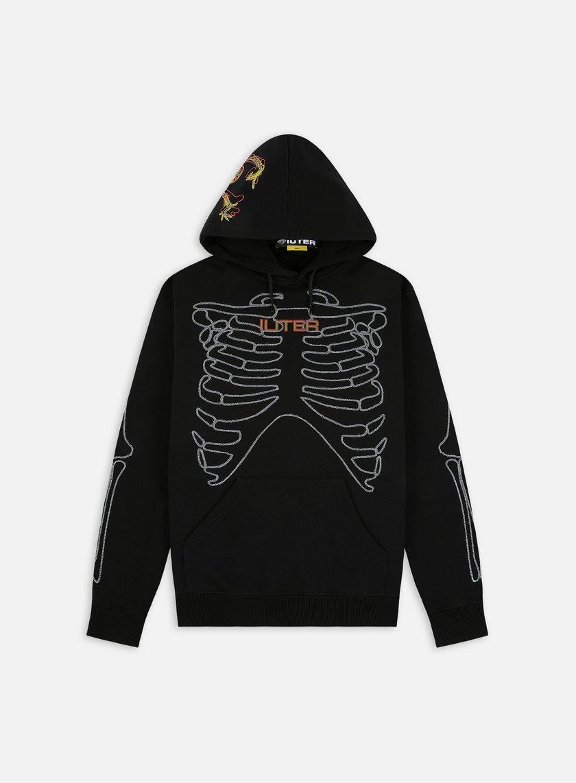 Iuter Skeleton Embro Hoodie