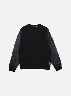Iuter - Soft Sleeve Crewneck, Black 1