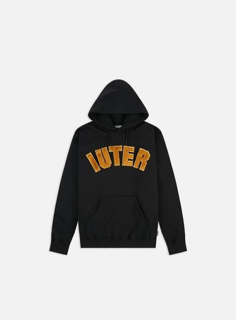 Logo Sweatshirts Iuter Solid Fur Hoodie