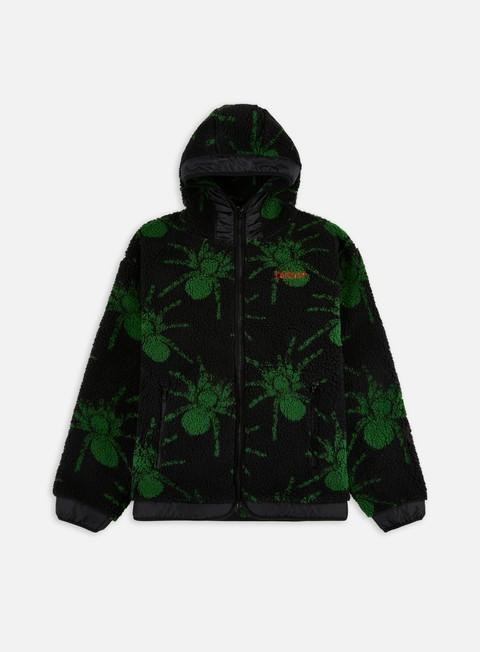 Fleece sweatshirts Iuter Spider Fur Zip Hoodie