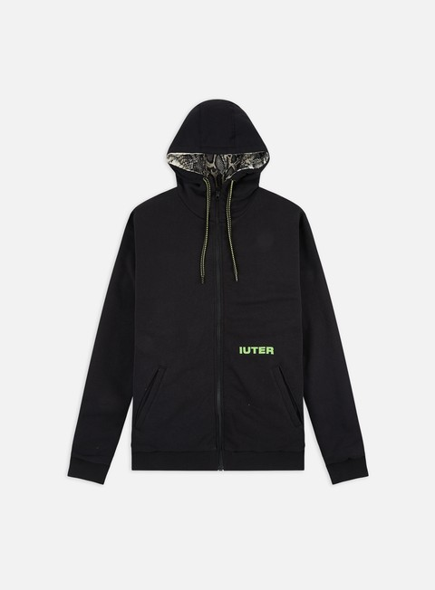 Sale Outlet Hooded Sweatshirts Iuter Teddybear Reversible Python Zip Hoodie