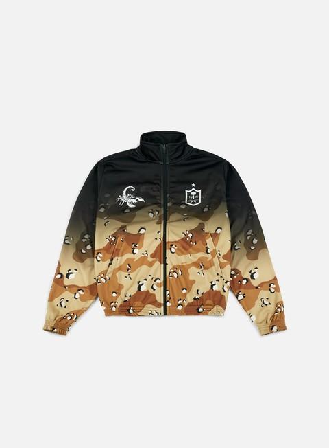 felpe iuter track jacket desert