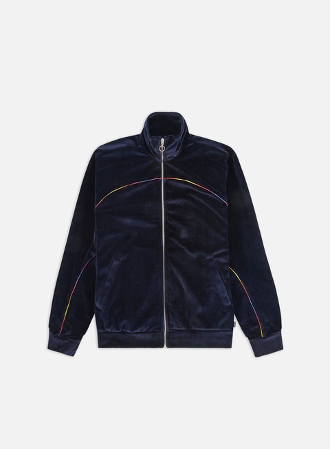 Track Top Iuter Velour Track Jacket