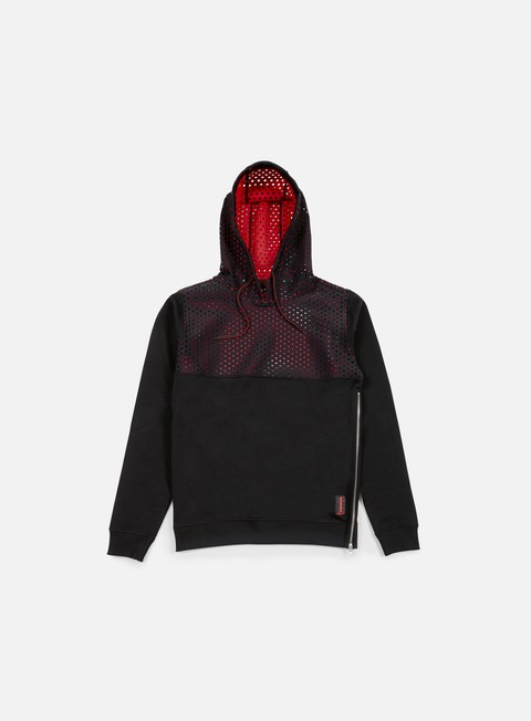 Hooded Sweatshirts Iuter Vent Perforated Neoprene Insert Hoodie