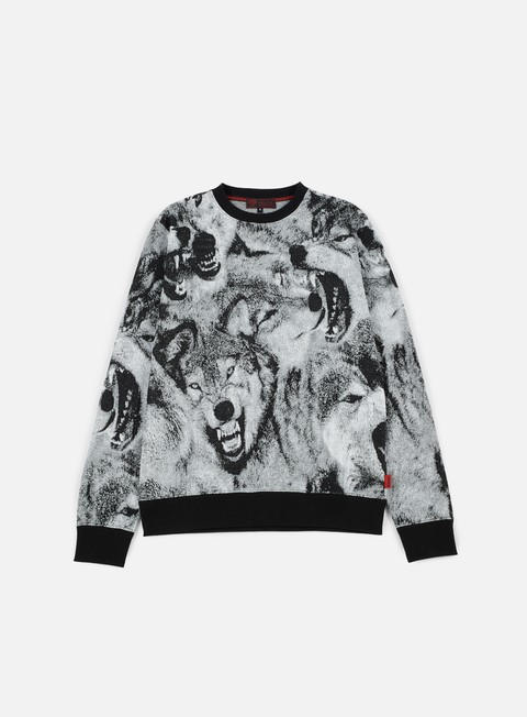 felpe iuter wolves crewneck dark grey