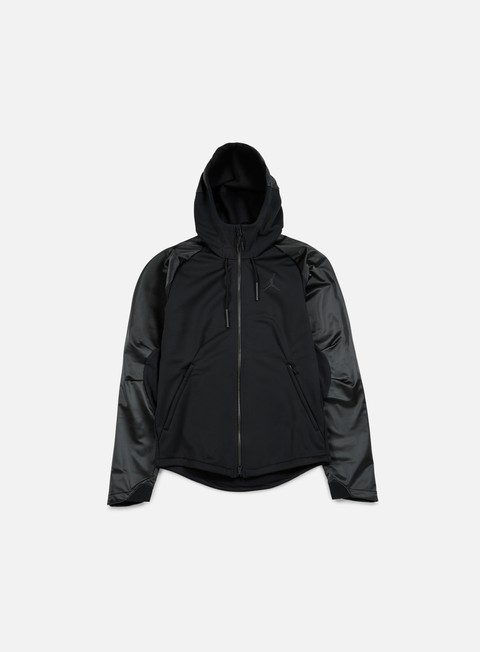 felpe jordan 360 therma shield max full zip hoodie black black