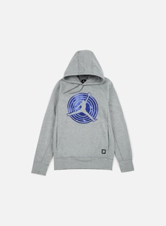Jordan - AJ 11 Hoodie, Dark Grey Heather/Black 1