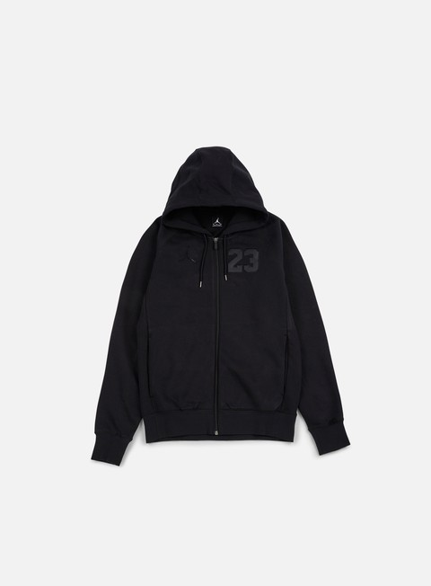 felpe jordan aj 6 full zip hoodie black