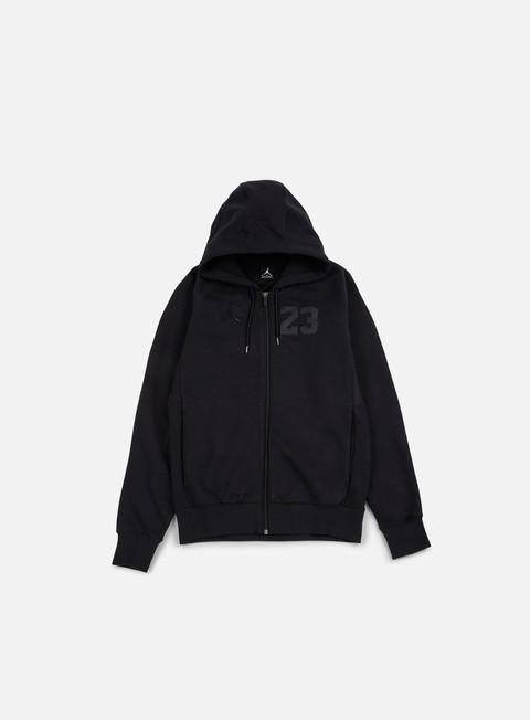 felpe jordan aj 6 full zip hoodie black