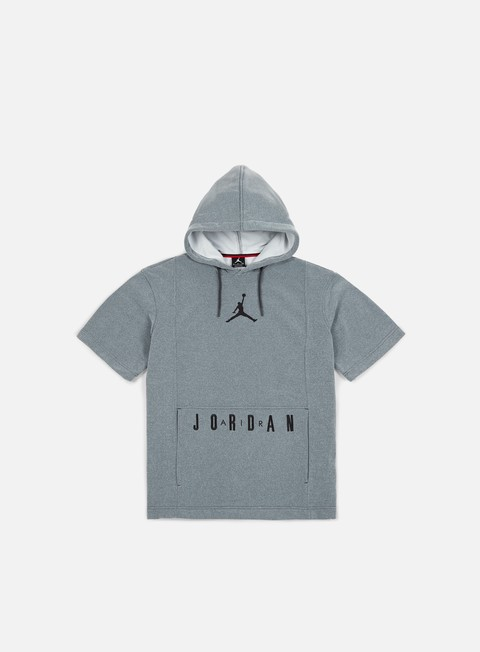 felpe jordan basketball ss hoodie carbon heather black